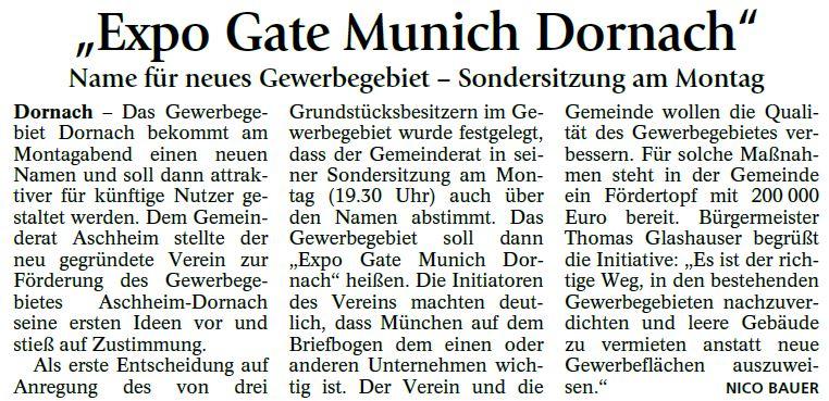 ExpoGate Dornach